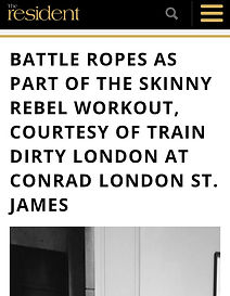 The Resident Workouts Islington