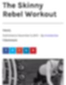 Travel Blogger London Skinny Rebel Workout