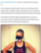 Fitness Blogger Skinny Rebel Workout
