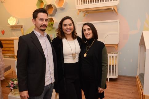 Diego Verri, Luciana Raunaimer e Maria P