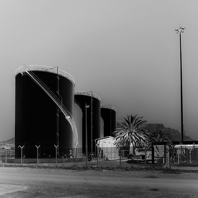 Industrial zone in Cape Town, photo published in the book goodhope