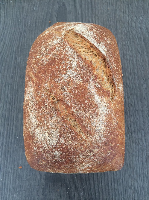 Wholemeal Loaf (small, Friday 5 March  bake)