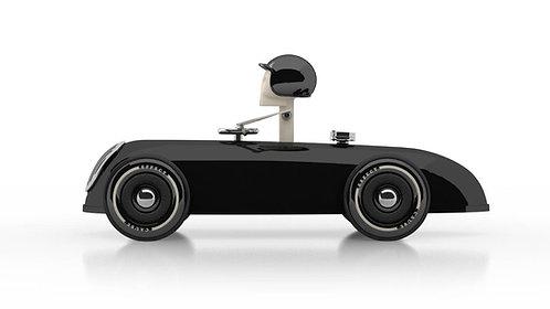 Cheeky Racer Schwarz / Black // Aufdruck Blau / Imprint Blue - Model: Basic