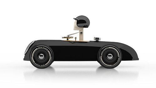 Cheeky Racer Schwarz / Black // Aufdruck: Gelb / Impr Yellow - Model: Gearshift