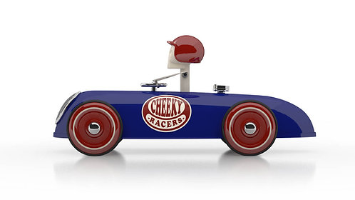 Cheeky Racer Blau / Blue - Model: Logo