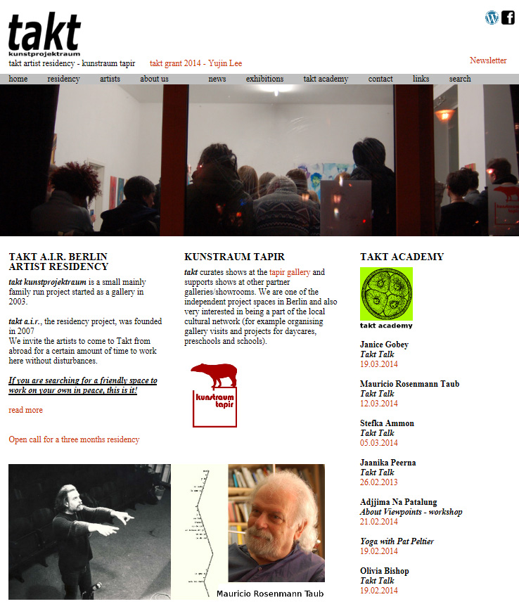 Residency at Takt kunstprojektraum
