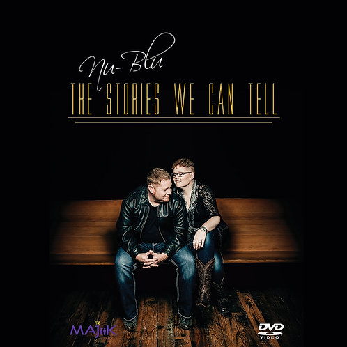 """Nu-Blu """"The Stories We Can Tell"""" DVD"""