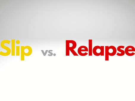 """Defining """"Slips"""" and """"Relapses"""""""