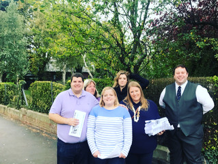 Penny Mordaunt MP launches street surgeries with local councillors.