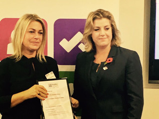 Penny Mordaunt MP supports the Recruitment Industry Disability Initiative Awards (RIDI Awards)