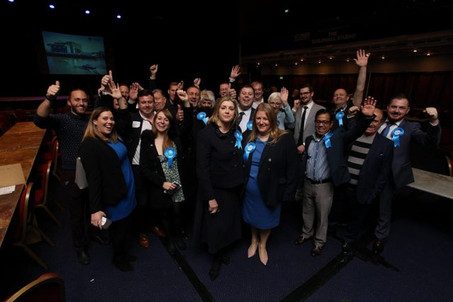 Penny Mordaunt MP wins elections