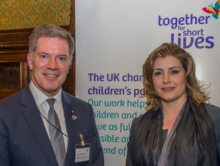 Penny Mordaunt MP helps shine a light on the 49,000
