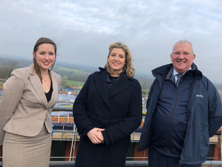 Penny Mourdant MP to celebrate redevelopment of Portsdown Technology Park.
