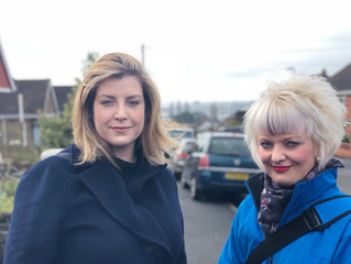 Penny Mordaunt MP hits the campaign trail in Paulsgrove