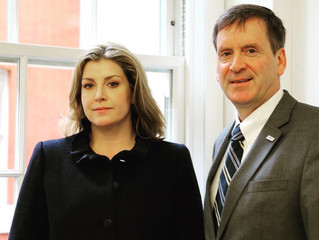 Penny Mordaunt MP meets Mark Green, USAID.