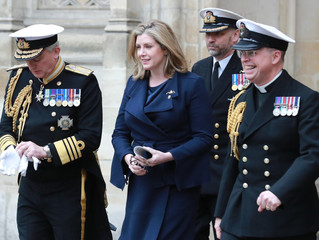 Defence Secretary Penny Mordaunt MP marked 50 years of our independent nuclear deterrent at a servic