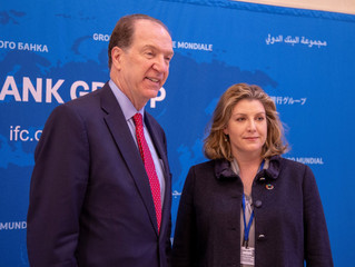 First meeting with new WorldBank President