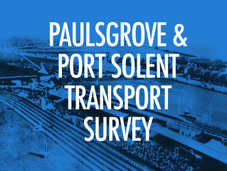 Paulsgrove and Port Solent transport survey launched