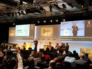 Penny Mordaunt MP and DFID host Global Disability Summit