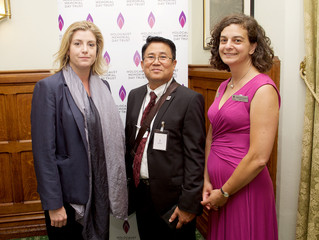 Penny Mordaunt MP meets survivors of the Holocaust at launch of resources for Holocaust Memorial Day
