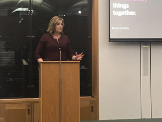 Penny Mordaunt MP hosts #Hacksessibility event in Parliament.