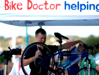 Dedicated Bike Doctor clinics for key workers.