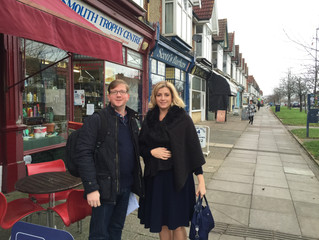 Penny Mordaunt MP supports Small Business Saturday