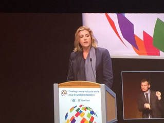 Penny Mordaunt MP: Create a more inclusive world