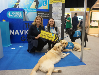I'm supporting Guide Dogs UK campaign for safer streets.