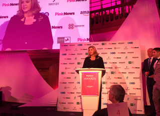 Penny Mordaunt MP wins Politician of the Year at PinkNews awards
