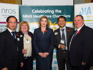 NRAS Mark Fifth Healthcare Champions Award Success