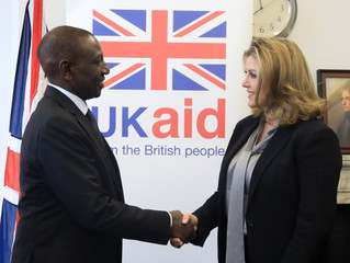 Penny Mordaunt MP meets with Kenyan Deputy President.