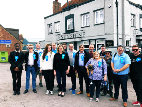 Penny Mordaunt MP welcomes Blue Beyond to Portsmouth
