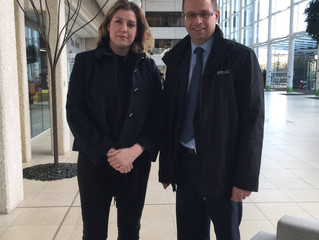 Penny Mordaunt MP meets with First Bus