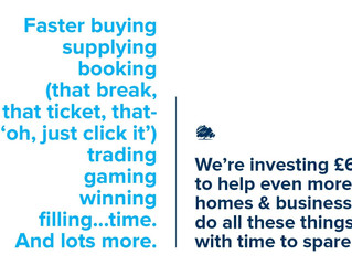 Faster internet helps businesses grow and create more quality jobs.