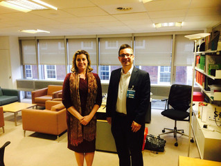 Penny Mordaunt MP visits RICA