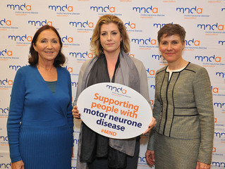 Penny Mordaunt supports the MND association.
