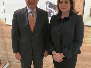 Penny Mordaunt MP meets Jim Yong Kim to discuss disability inclusion and more.