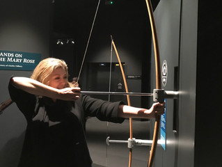 Penny visits Mary Rose Museum