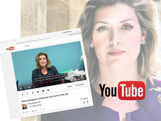 Video Blog: Penny Mordaunt MP welcomes cash investment into north of Portsmouth.