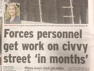 Forces personnel get work on civvy street 'in months' - Portsmouth News