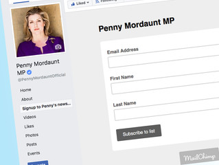Signup to Penny Mordaunt's E-Newsletter