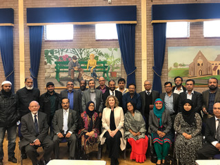 Penny hosts 'Tea with your MP' event at Buckland Community Centre