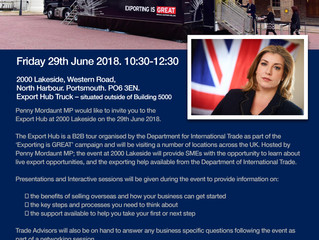 Penny Mordaunt MP to host Brexit Export Hub Event