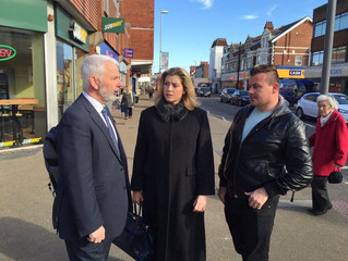 Penny Mordaunt MP welcomes Serious Violence Fund cash boost for Hampshire and Portsmouth.