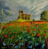 La chapelle aux coquelicots