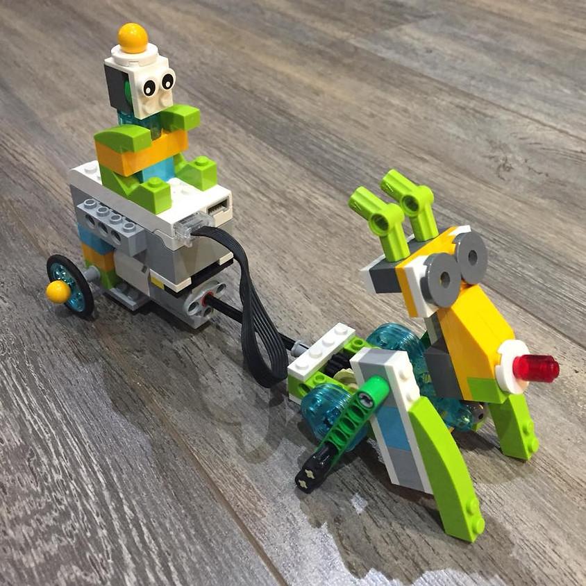 סדנת רובוטיקה לצעירים - Lego WEDO - מלא