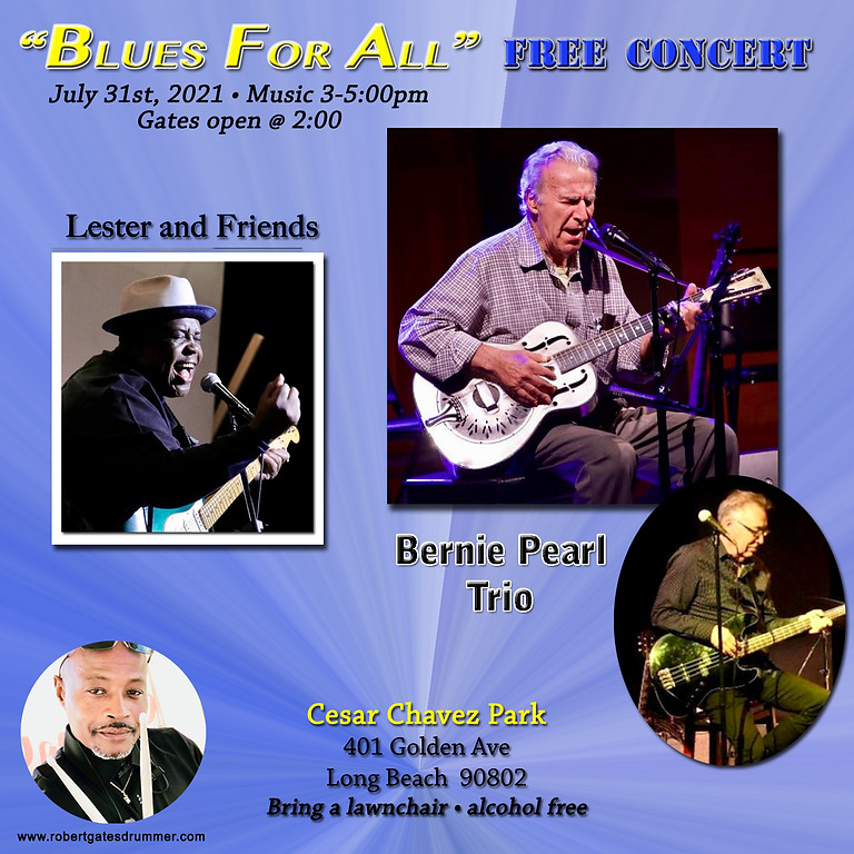 """""""BLUES FOR ALL"""" FREE CONCERT"""