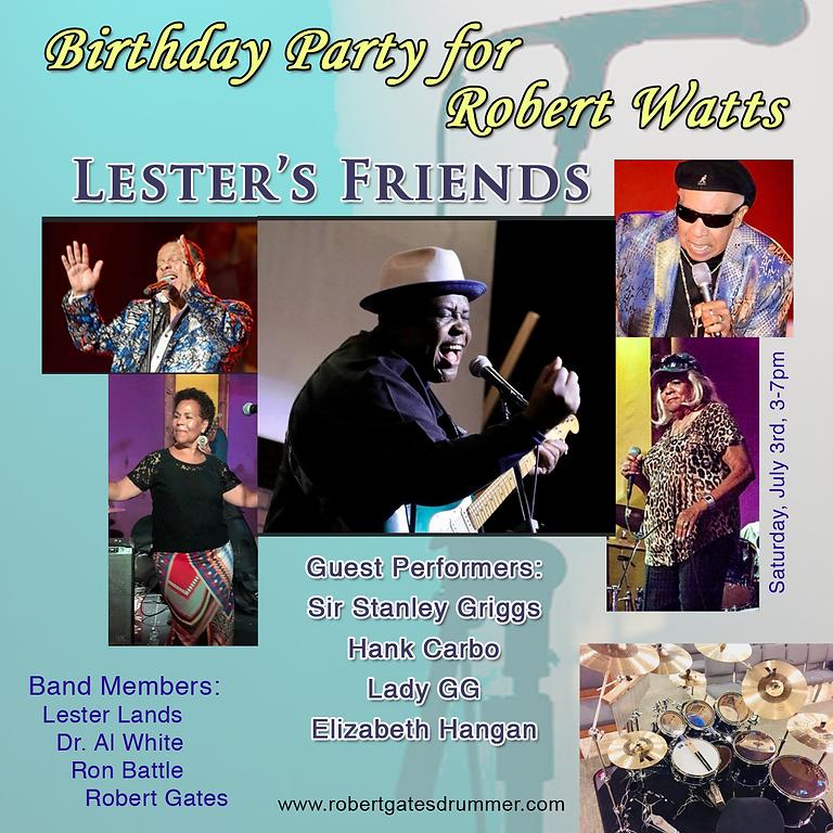 Birthday Bash for Robert Watts