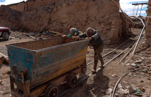 A shot from a series I did when venturing into the mines of Potosi Bolivia.